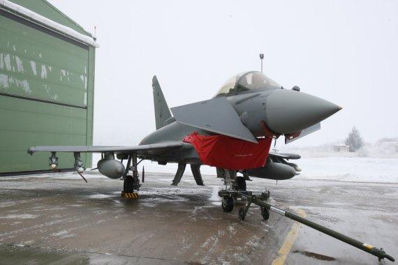 Alvydo Januševičiaus nuotr./Eurofighter Typhoon