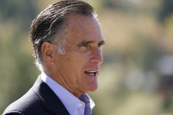 """Scanpix""/AP nuotr./Mittas Romney"