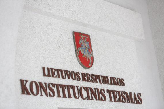 Juliaus Kalinsko / 15min nuotr./Lietuvos Respublikos Konstitucinis Teismas