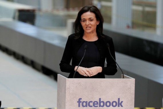 """Reuters""/""Scanpix"" nuotr./Sheryl Sandberg"
