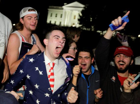 """Reuters""/""Scanpix"" nuotr./JAV prezidento rinkimai"