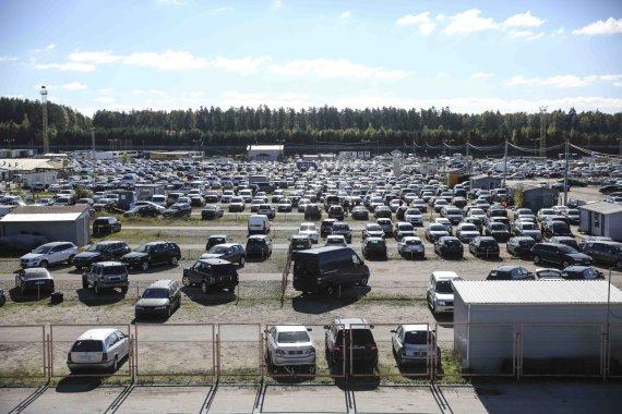 Luko Balandžio/15min.lt nuotr./Gariūnų verslo centras