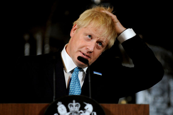"""Scanpix""/AP nuotr./Borisas Johnsonas"