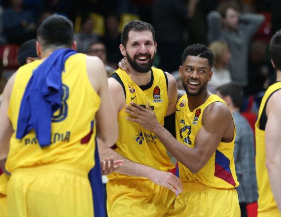 "nuotr. ""Getty Images""/euroleague.net/""Barcelona"" krepšininkai"