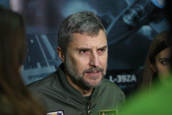 Alvydo Januševičiaus nuotr./Pulkininkas leitenantas Juan Ballesta
