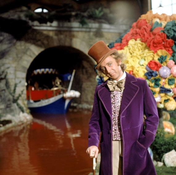 """Vida Press nuotr./Gene'as Wilderis filme """"Vilis Vonka ir šokolado fabrikas"""" (1971 m.)"""