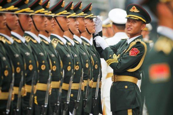 """""""Reuters""""/""""Scanpix"""" nuotr./Kinijos kariuomenė"""