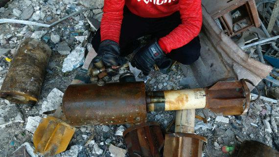 """AFP/""""Scanpix"""" nuotr./Įtariama, kad dujų ataka buvo surengta Gutos regione esančiame Dumos mieste"""