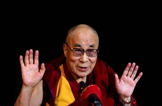 """""""Scanpix""""/""""PA Wire""""/""""Press Association Images"""" nuotr./Dalai Lama"""