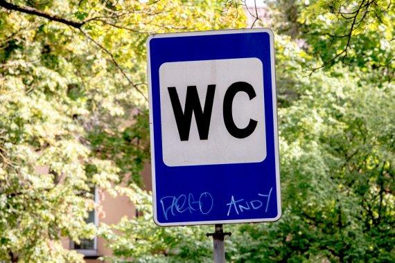 Vidmanto Balkūno / 15min nuotr./Viešasis tualetas ir slėptuvė Vilniaus Žvėryno rajone
