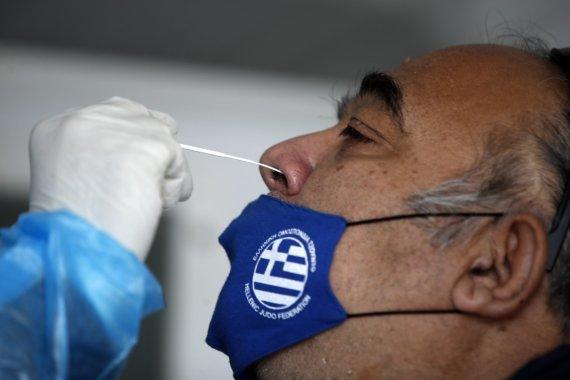 """""""Scanpix""""/AP nuotr./Graikija gelbėdama ligonines skelbia 3 savaičių karantiną"""