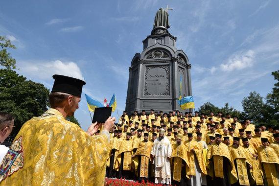 """AFP/""""Scanpix"""" nuotr./Ukrainos stačiatikiai"""