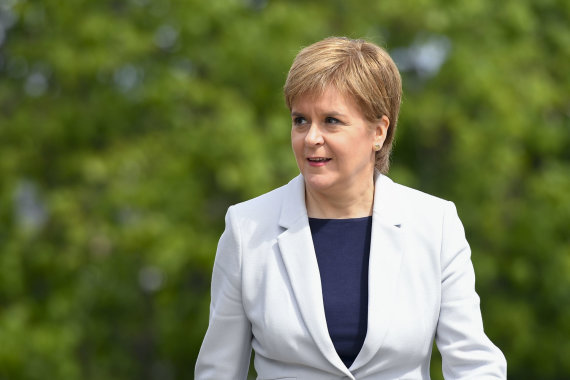 Vida Press nuotr./Nicola Sturgeon
