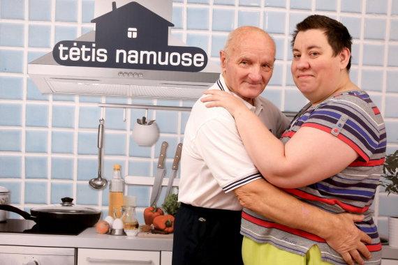 Arūno Svelnos nuotr./Vidas Antonovas su žmona Rima