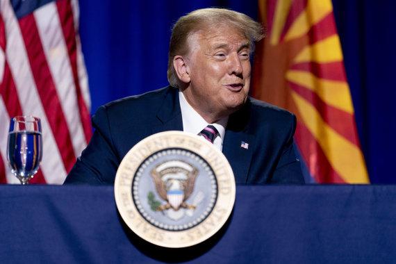 """Scanpix""/AP nuotr./Donaldas Trumpas"