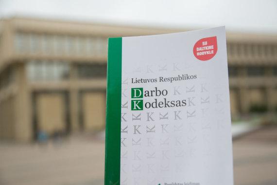 Juliaus Kalinsko / 15min nuotr./Darbo kodeksas