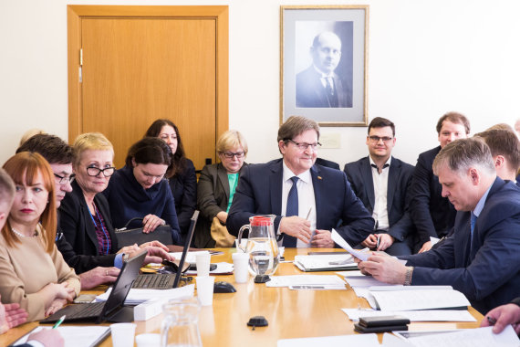 Luko Balandžio / 15min nuotr./Švietimo ir mokslo komitetas