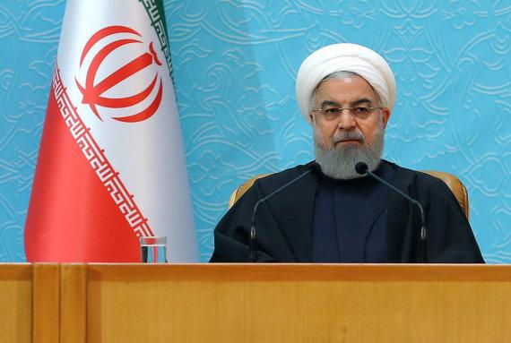 "AFP/""Scanpix"" nuotr./Hassanas Rouhani"