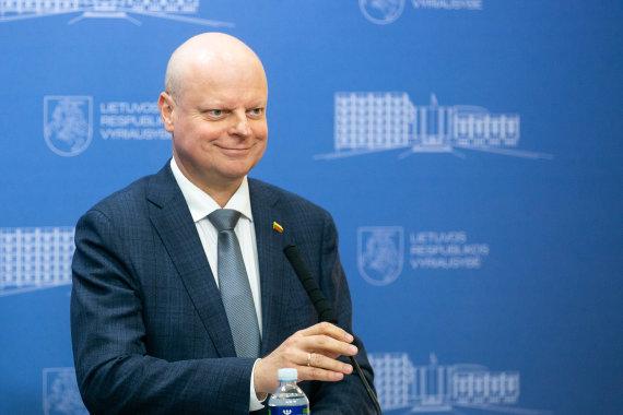 Žygimanto Gedvilos / 15min nuotr./Vyriausybėje pristatytas kitų metų valstybės biudžeto projektas