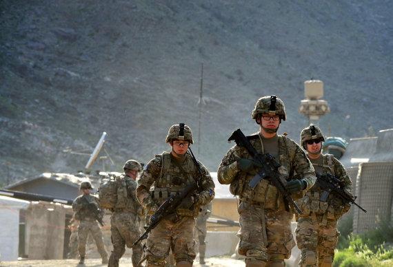 """AFP/""""Scanpix"""" nuotr./JAV kariai Afganistane"""