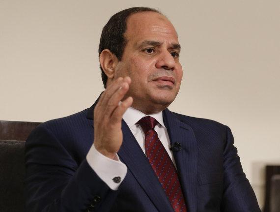Scanpix nuotr./Abdelas Fattahas el-Sisi