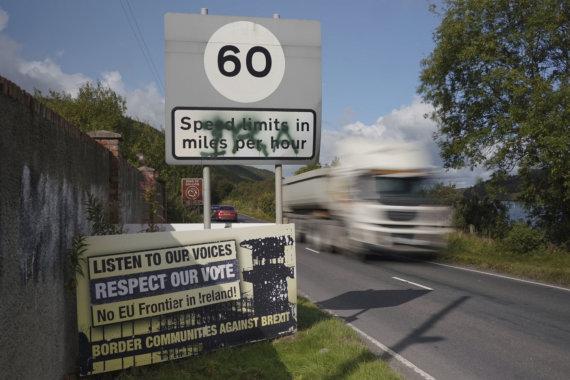 """""""Scanpix""""/AP nuotr./Riba tarp Airijos ir Šiaurės Airijos"""
