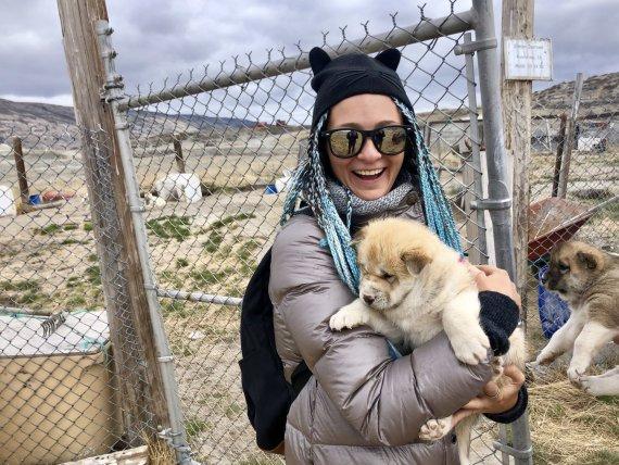K.Dabašinskaitės nuotr./Gyvenimas Grenlandijoje
