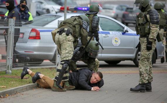 """Reuters""/""Scanpix"" nuotr./Protestas Baltarusijoje"