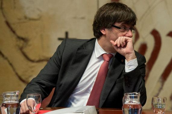 "AFP/""Scanpix"" nuotr./Carlesas Puigdemont'as"
