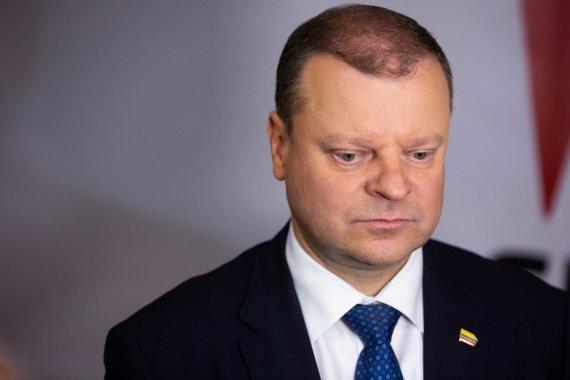 Žygimanto Gedvilos / 15min nuotr./Slogios nuotaikos S.Skvernelio rinkiminiame štabe