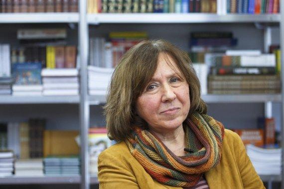 """Reuters""/""Scanpix"" nuotr./Baltarusių rašytoja Svetlana Aleksijevič"