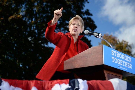 """AFP/""""Scanpix"""" nuotr./Elizabeth Warren"""