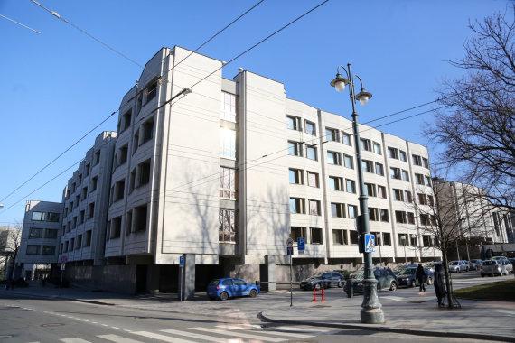 Juliaus Kalinsko / 15min nuotr./Lietuvos Respublikos Vyriausybės pastatas