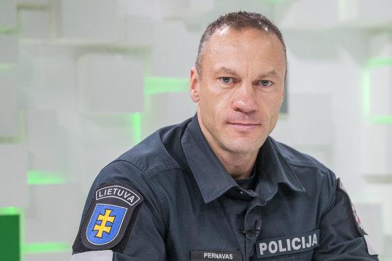 Roko Lukoševičiaus / 15min nuotr./Linas Pernavas 15min studijoje