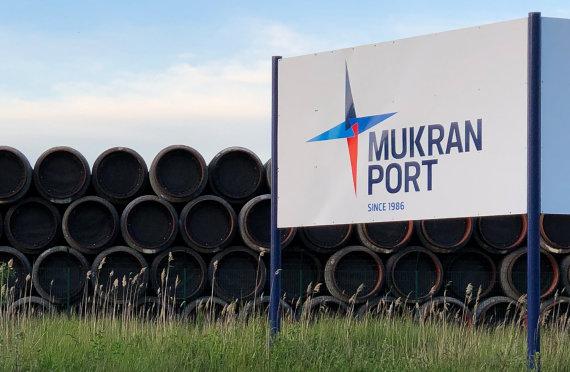 """""""Scanpix""""/ITAR-TASS nuotr./""""Nord Stream 2"""" vamzdžiai Vokietijoje"""