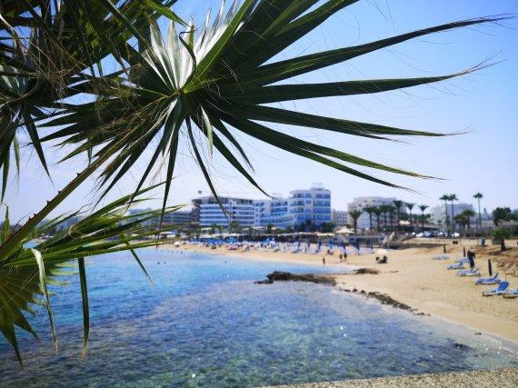 J.Bilskienės nuotr./Kipre daug balto smėlio paplūdimių