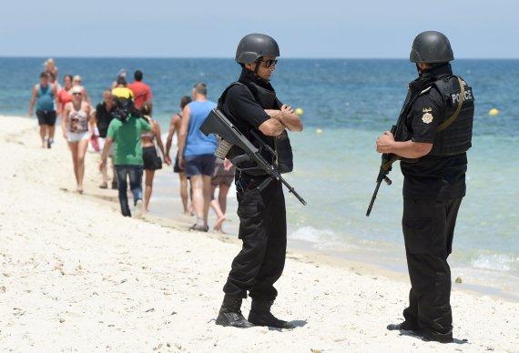 """AFP/""""Scanpix"""" nuotr./Tuniso policija"""