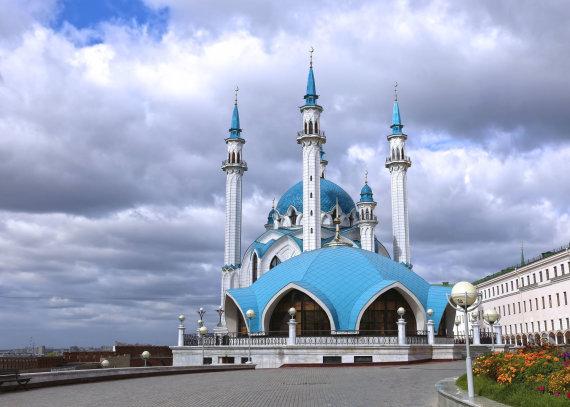 123rf.com nuotr./Mečetė Kazanės kremliuje