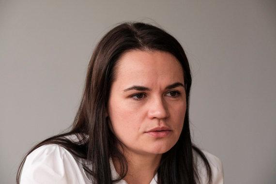 """""""Reuters""""/""""Scanpix"""" nuotr./Sviatlana Cichanouskaja"""