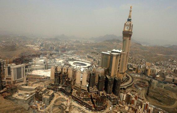 """Reuters""/""Scanpix"" nuotr./Dangoraižis Mekoje, Saudo Arabijoje"