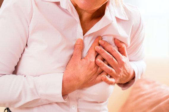 Vida Press nuotr./Užterštas oras priartina ir širdies ligas, miokardo infarktą