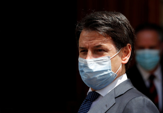 """Reuters""/""Scanpix"" nuotr./Giuseppe Conte"