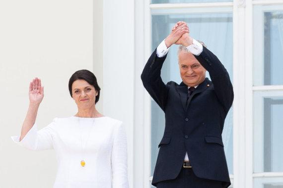 Žygimanto Gedvilos / 15min nuotr./Diana Nausėdienė ir Gitanas Nausėda