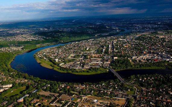 Karolinos Stažytės nuotr./Kaunas iš viršaus