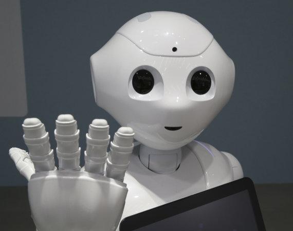 """Scanpix""/AP nuotr./Robotas humanoidas ""Pepper"""