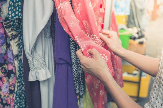 123RF.com nuotr./Drabužių parduotuvė