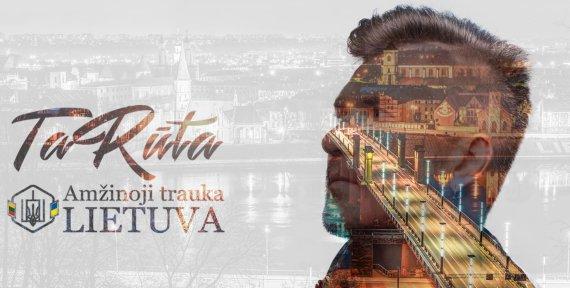 """Organizatorių nuotr. /Grupės """"TaRuta"""" Lietuvai skirtos dainos viršelis"""
