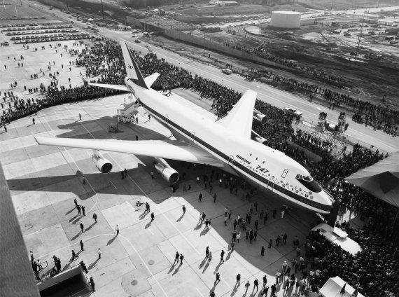 """""""Wikimedia Commons"""" nuotr./""""Boeing 747"""" visuomenei pirmą kartą parodytas 1968 metais"""