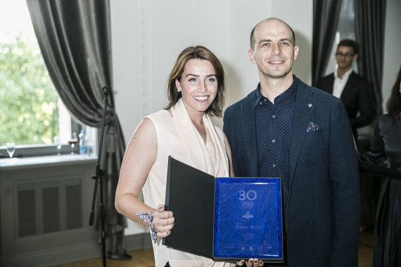 Viganto Ovadnevo/Žmonės.lt nuotr./Vytautas Samavičius su žmona Kristina