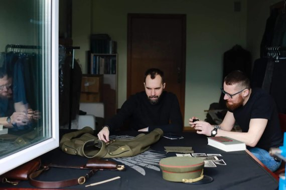 Monikos Penkutės nuotr./Giedrius Paulauskas ir Darius Antanaitis